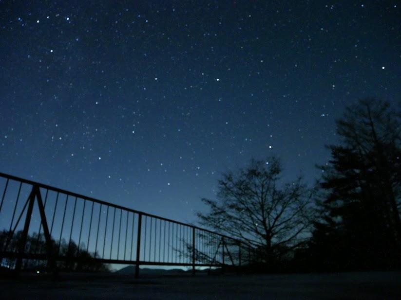 ちょっとだけふたご座流星群を見ることができた