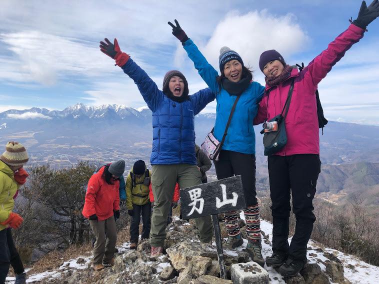 山頂から八ヶ岳