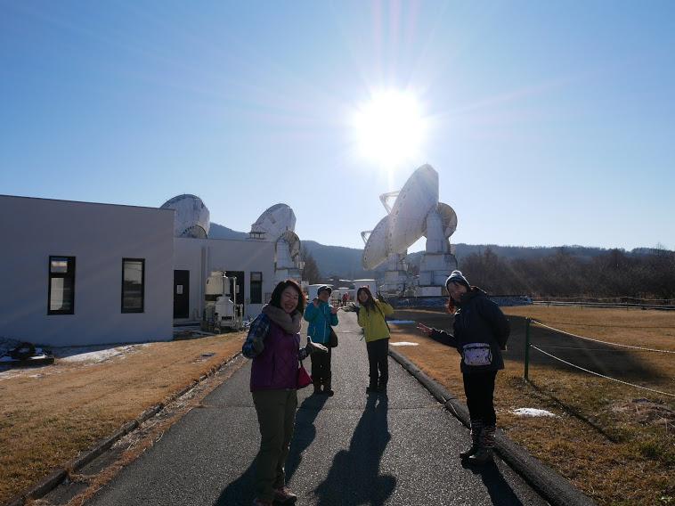 天文台見学中