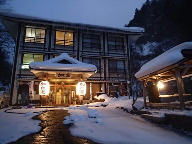 加仁湯旅館玄関