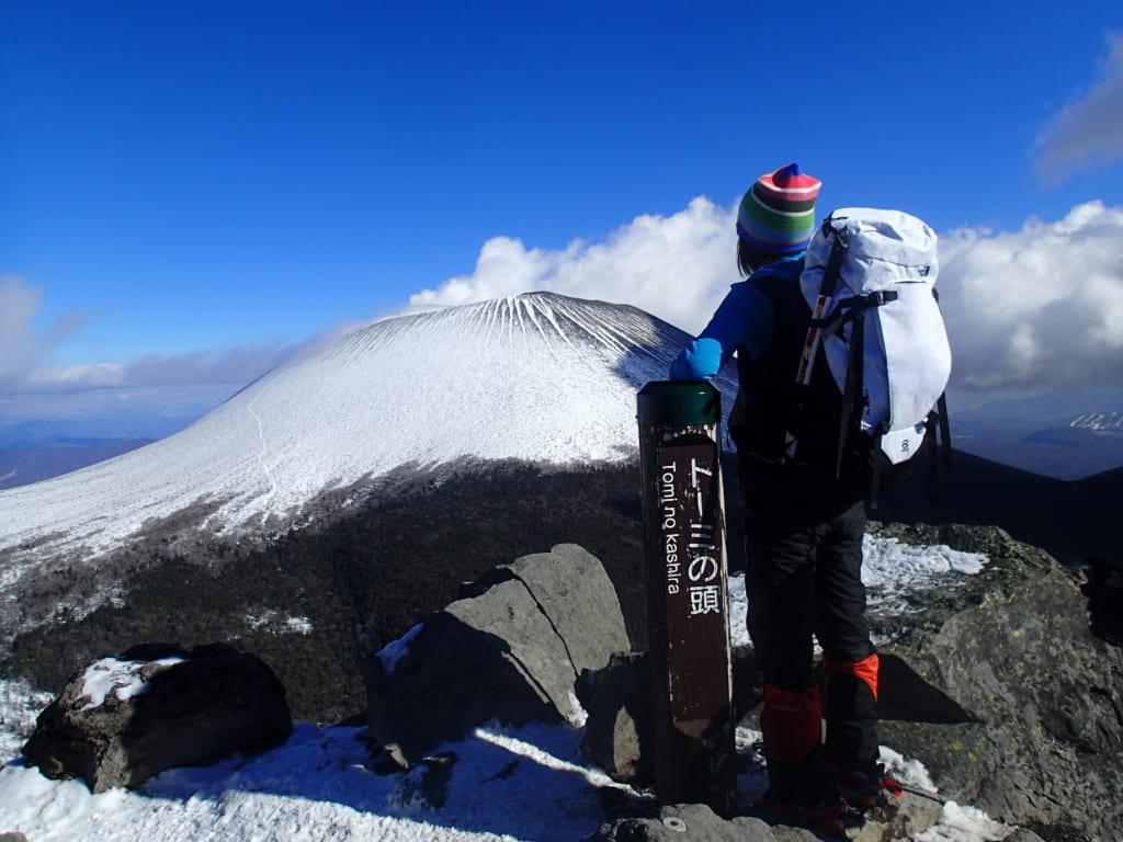 浅間山をバックに記念撮影②