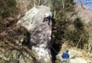 幕岩クライミング
