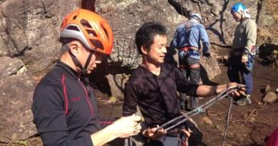 クライミング湯河原・幕岩