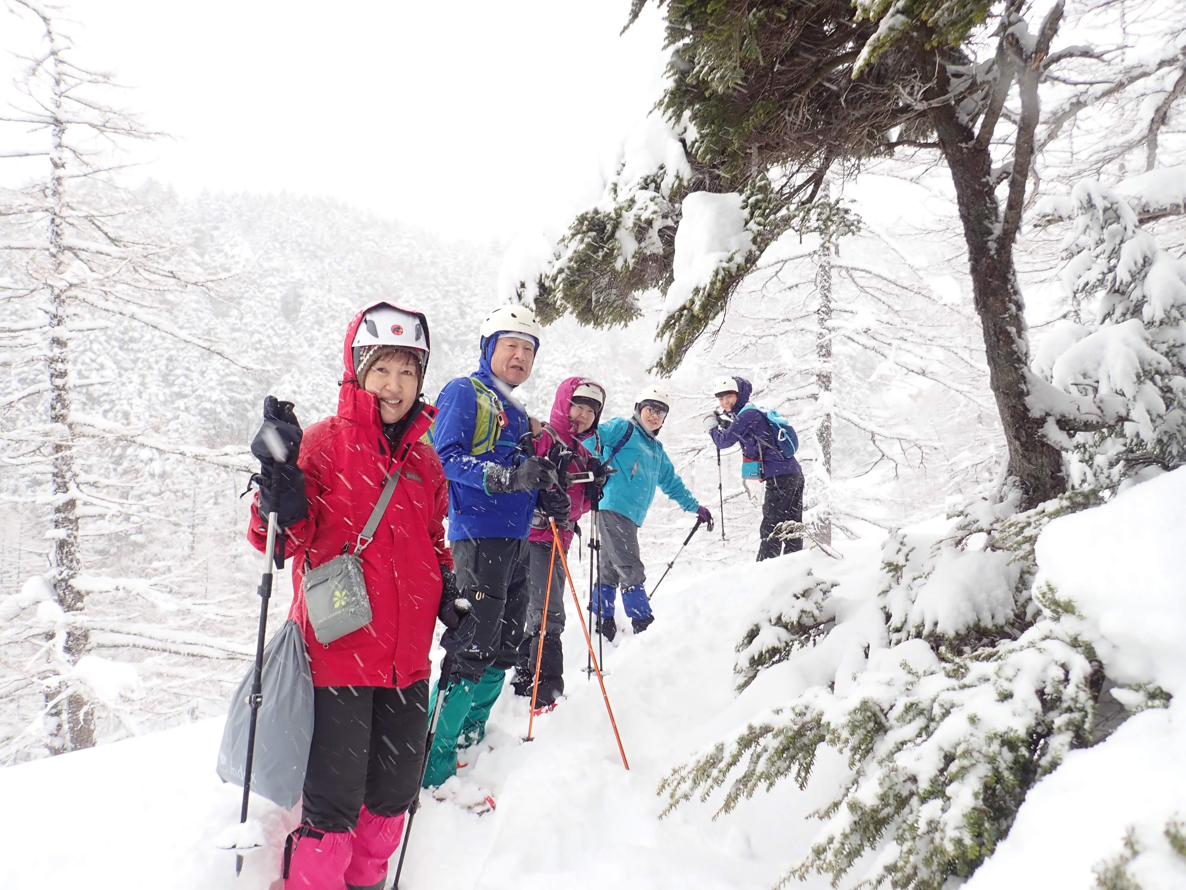 硫黄岳ツアー