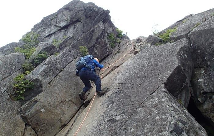 2020年 6月 20日(土)山梨県の乾徳山に行ってきました